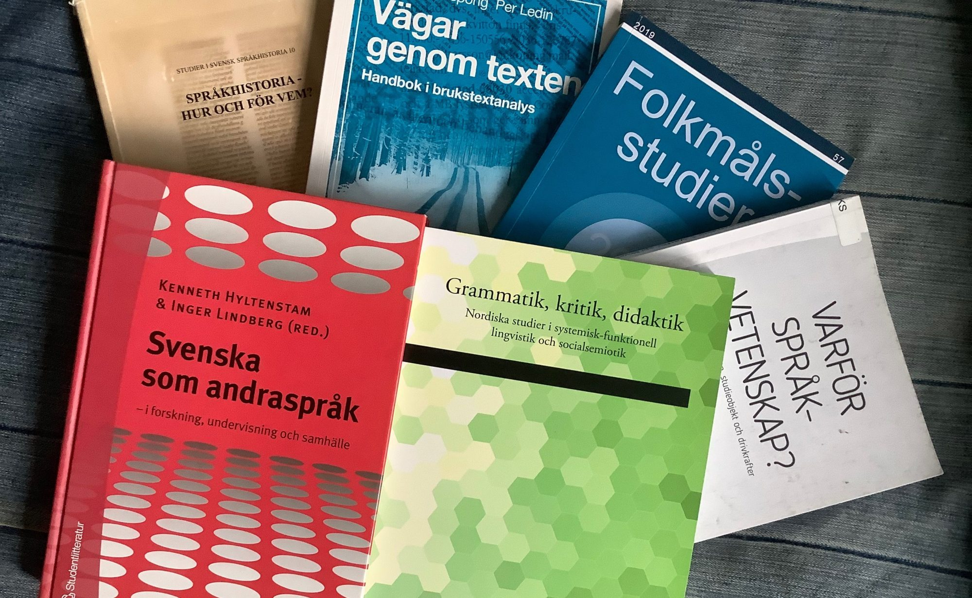 Aktuell forskning i nordiska språk 2019