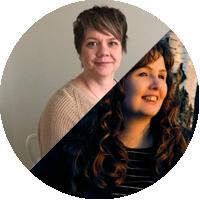 Kirjoittajat Heidi Hyttinen ja Hanna Kortelainen