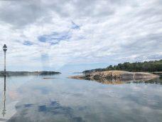 Näkymä veneestä Saaristomerelle.