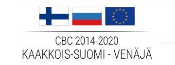 CBC 2014-2020 Kaakkois Suomi - Venäjä hankkeen logo