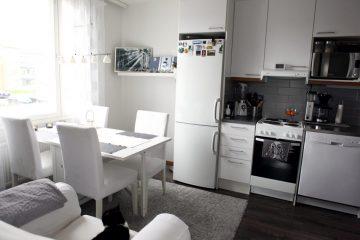 Housing, apartment, living situation ion Turku, TYS, YO-kylä