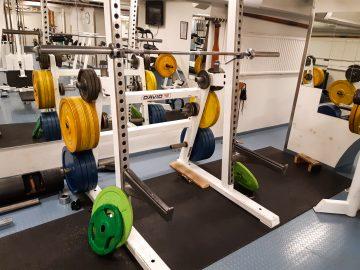 Campus Sport in Turku, Finland. Roddis gym.
