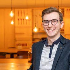 Jonathon Murphy, UTU ambassador, student ambassador, University of Turku,