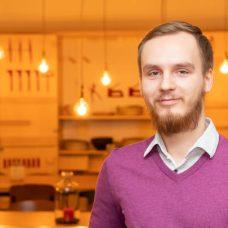 Kristaps Kovalonoks, UTU ambassador, student ambassador, University of Turku,