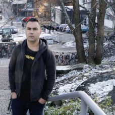 Reza Abasi, studying in the Master´s Degree Programme specialisation track Cyber Security