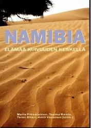 Namibiaan suuntautuneen retken julkaisun kansi