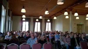 TUCEMEMSin seminaarin yleisöä.
