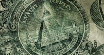 Kaikkinäkevä silmä Yhdysvaltain yhden dollarin setelissä