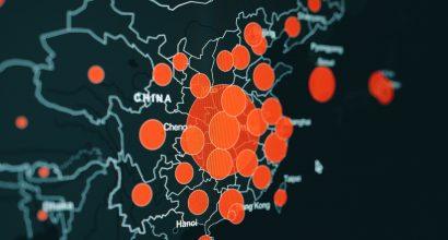 Karttakuva tarunnoista Kakkois-Aasian alueella