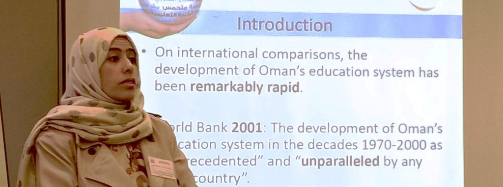First article of Oman research presented